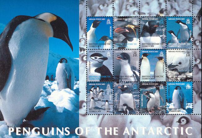 British Antarctic Territory 2003 Penguins of the Antarctic Sa
