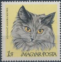 Hungary 1968 Domestic Cats c