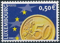 Luxembourg 2001 Euro-Coins d
