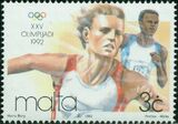 Malta 1992 Olympic Games - Barcelona a