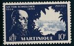 Martinique 1945 Victor Schoelcher a