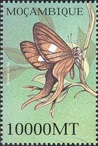 Mozambique 2002 Butterflies q