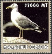 Mozambique 2002 The World of the Sea - Sea Birds 3 e