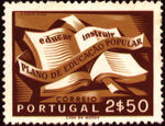 Portugal 1954 National Literacy Campaign d