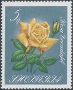 Albania 1967 Roses a