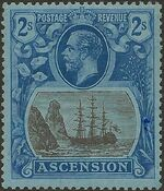 Ascension 1924 Seal of the Colony k