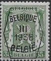 Belgium 1938 Coat of Arms - Precancel (3rd Group) e.jpg