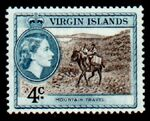 British Virgin Islands 1956 Queen Elizabeth II and Views e