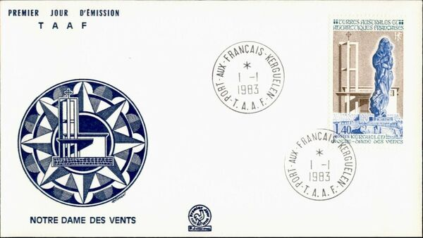 French Southern and Antarctic Territories 1983 Our Lady of the Winds, Kerguelen FCa