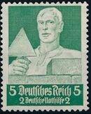 Germany-Third Reich 1934 Professions b