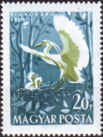 Hungary 1959 Water Birds b