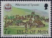 Isle of Man 1979 1000th Anniversary of the Tynwald Parlament d
