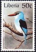 Liberia 1997 Birds j