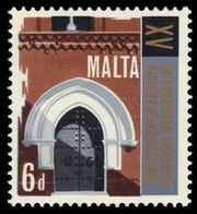 Malta 1967 15th Congress of the History of Architecture b