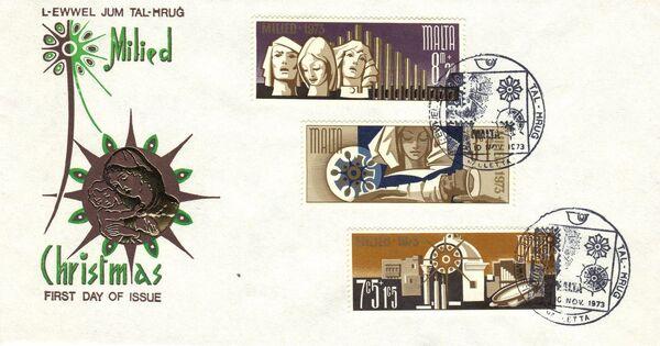 Malta 1973 Christmas h