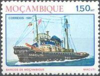 Mozambique 1981 Ships of Mozambique b