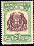 Mozambique company 1937 Assorted designs s