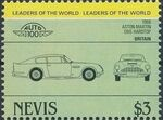 Nevis 1984 Leaders of the World - Auto 100 (1st Group) w