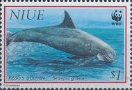 Niue 1993 WWF Dolphins d