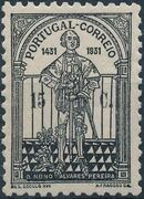 Portugal 1931 5th Centenary of the Death of St. Nuno Álvares Pereira a