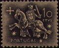 Portugal 1953 Definitives - Medieval Knight b.jpg