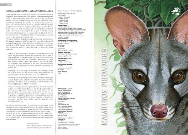 Portugal 2016 Portuguese Mammalian Predators IOPa