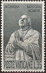 Vatican City 1958 Bicentenary of the Birth of Antonio Canova c
