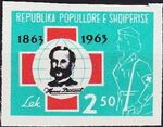 Albania 1963 100th Anniversary of Red Cross f