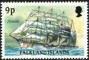 Falkland Islands 1989 Ships of Cape Horn i