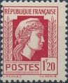 France 1944 Series d'Algiers (Cock of Alger and Marianne of Fernez) m.jpg
