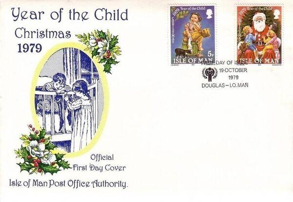 Isle of Man 1979 Christmas and International Year of Child k