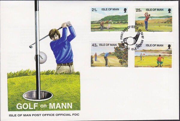 Isle of Man 1997 Golf x