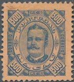 Macao 1894 Carlos I of Portugal l