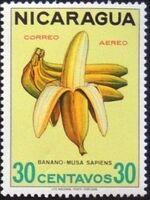 Nicaragua 1968 Fruits e