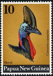 Papua New Guinea 1974 Birds heads b