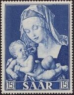 Saar 1954 Centenary of the Promulgation of the Dogma of the Immaculate Conception c