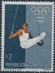 San Marino 1960 17th Olympic Games in Rome b