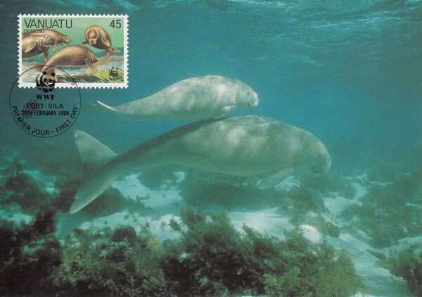Vanuatu 1988 WWF Dugong n