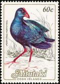 Aitutaki 1984 Local Birds (2nd Group) b