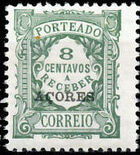 Azores 1924 Postage Due Stamps of Portugal Overprinted (3rd Group) b