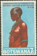 Botswana 1968 Opening of the National Museum and Art Gallery b