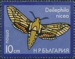 Bulgaria 1975 Moths d