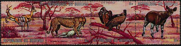 Burundi 1971 Animals ac