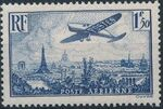 France 1936 Plane over Paris b