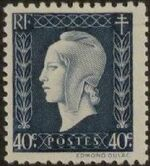 France 1945 Marianne de Dulac (2nd Issue) c
