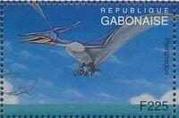 Gabon 1995 Prehistoric Wildlife n