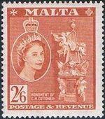 Malta 1956 Elizabeth II n