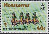 Montserrat 1979 50th Anniversary of Scouting in Montserrat a