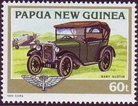 Papua New Guinea 1994 Classic Cars c