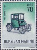 San Marino 1962 Automobiles (pre-1910) l
